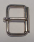 "32mm (1¼"") Roller Buckle Nickel Plated Light. Code ZX7"